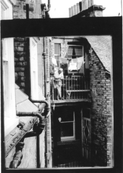 View From Tenement Window In Grange Court, Causewayside 1950s