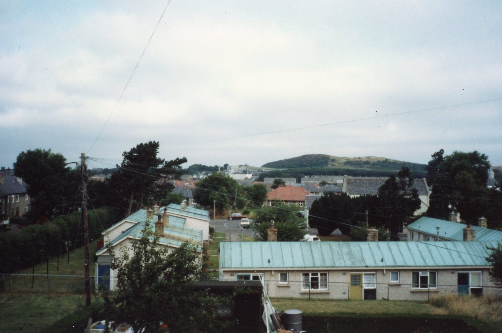 Prefab housing at Oxgangs