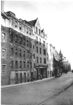 Royal Mile Tenement In Disrepair 1960s