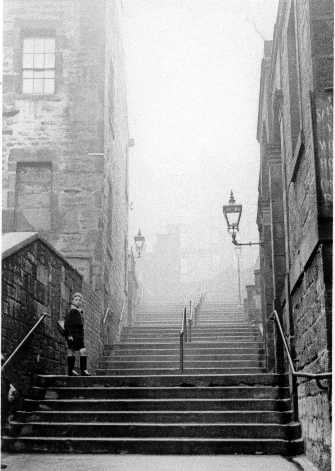 Brown's Close Up Toward Flodden Wall, Grassmarket 1960s