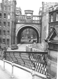 Regent Arch From Calton Road 1950s