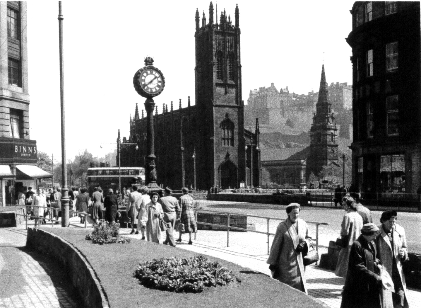 West End Of Princes Street 1950s