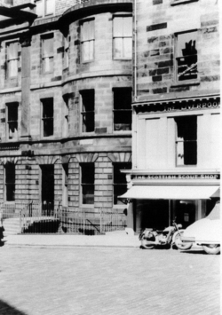 House Of Walter Scott, Castle Street 1957