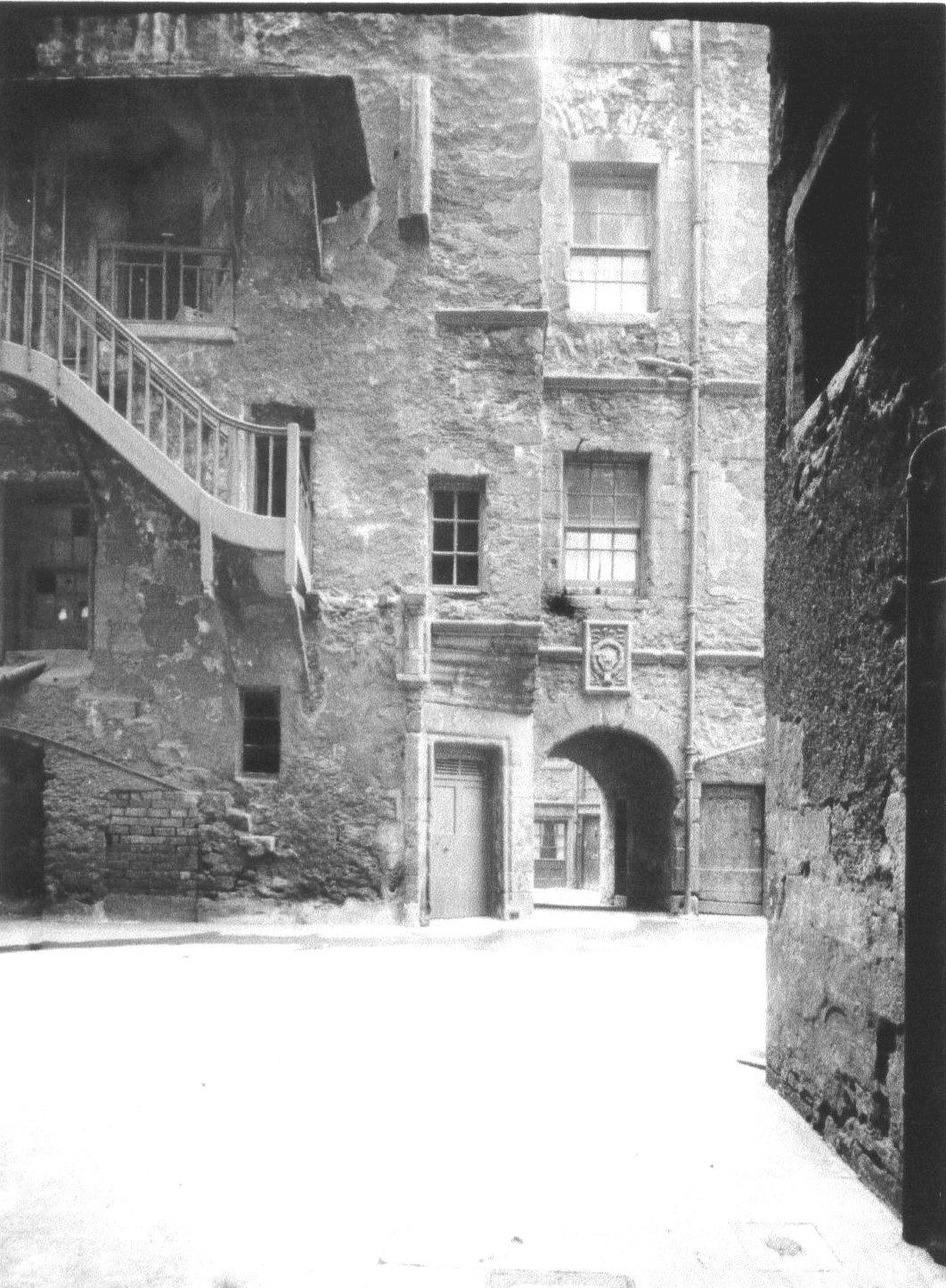 Old Town Courtyard 1960s