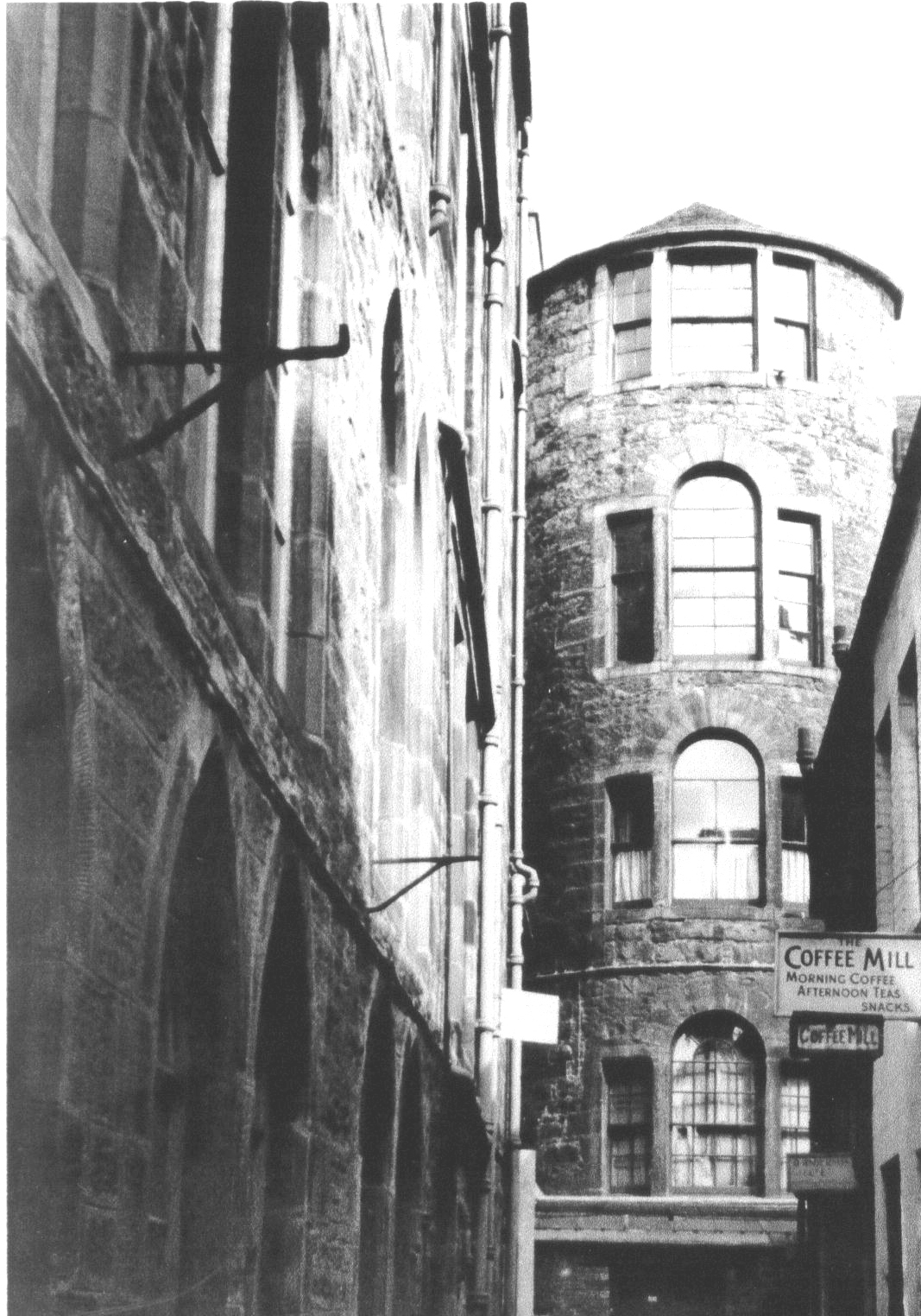 Lane Behind George Street 1959