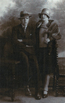 Studio Portrait Young Couple 1928