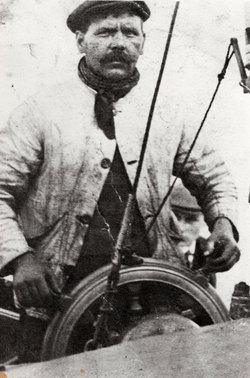 Sailor At The Helm c.1910