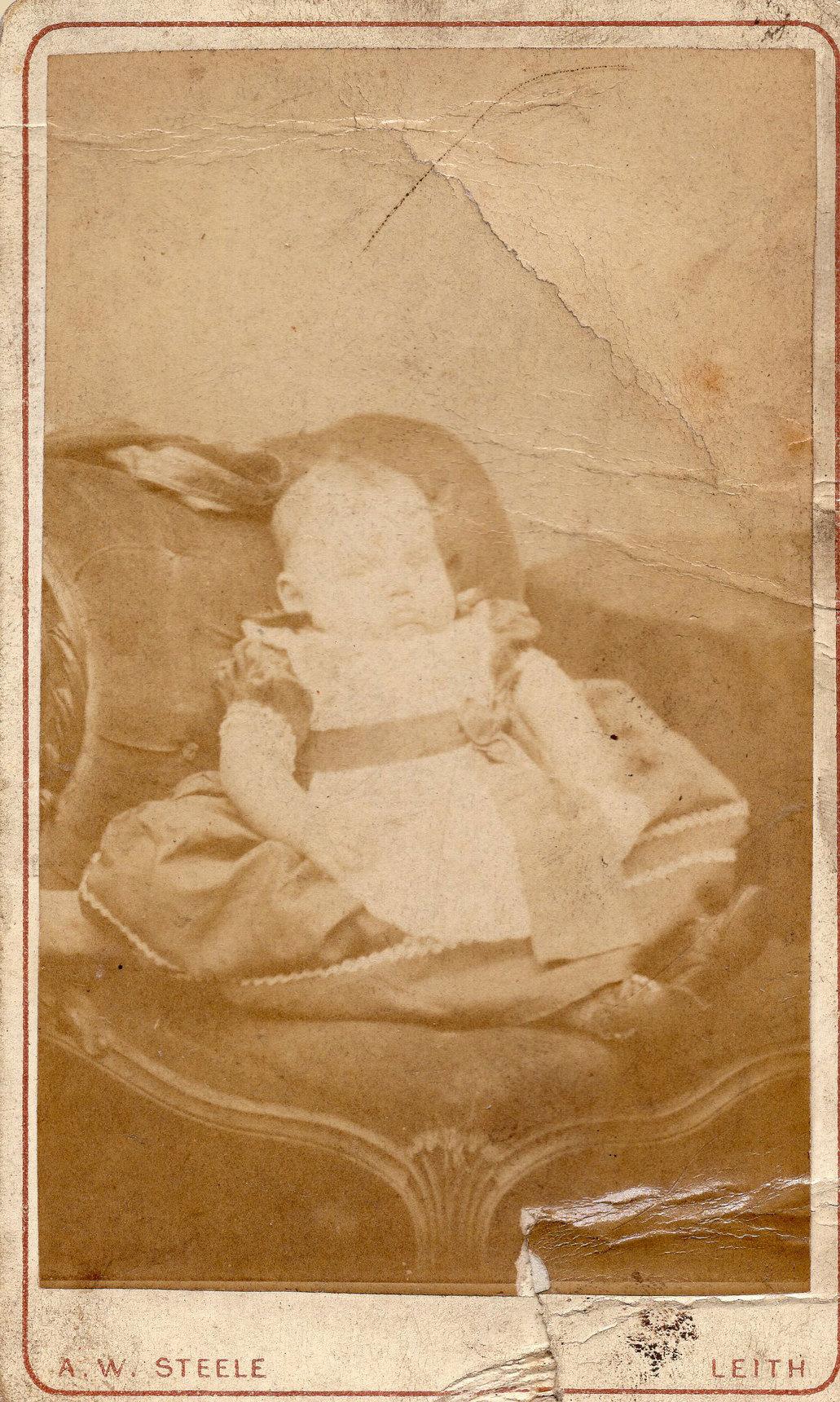 Studio Portrait Baby 1877