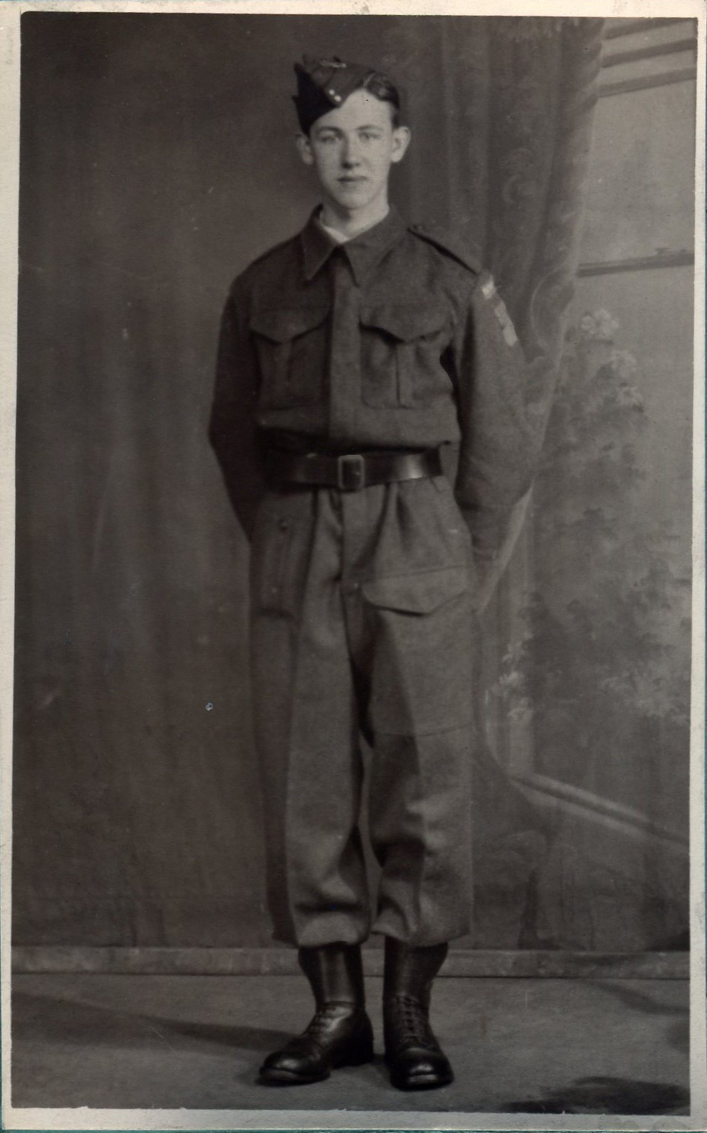 Member Of The Home Guard Prior To Being Called Up 1940s
