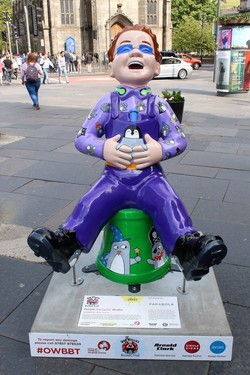 Oor Wullie's Bucket Trail - Purple Penguin Wullie