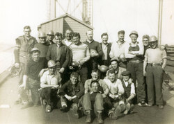 Construction Crew Of The Forth Road Bridge c.1962