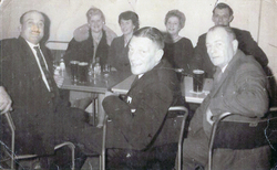 Forth Road Bridge Construction Workers And Partners On Social Night Out c.1963