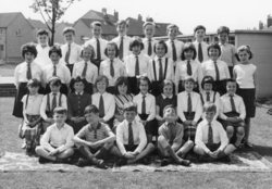 School class photo, Oxgangs