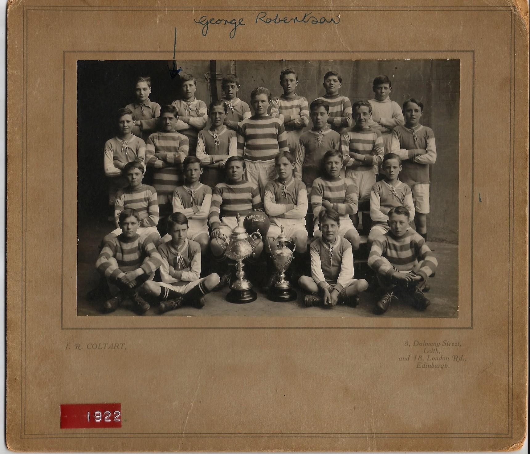 Abbeyhill Football Team 1922/23