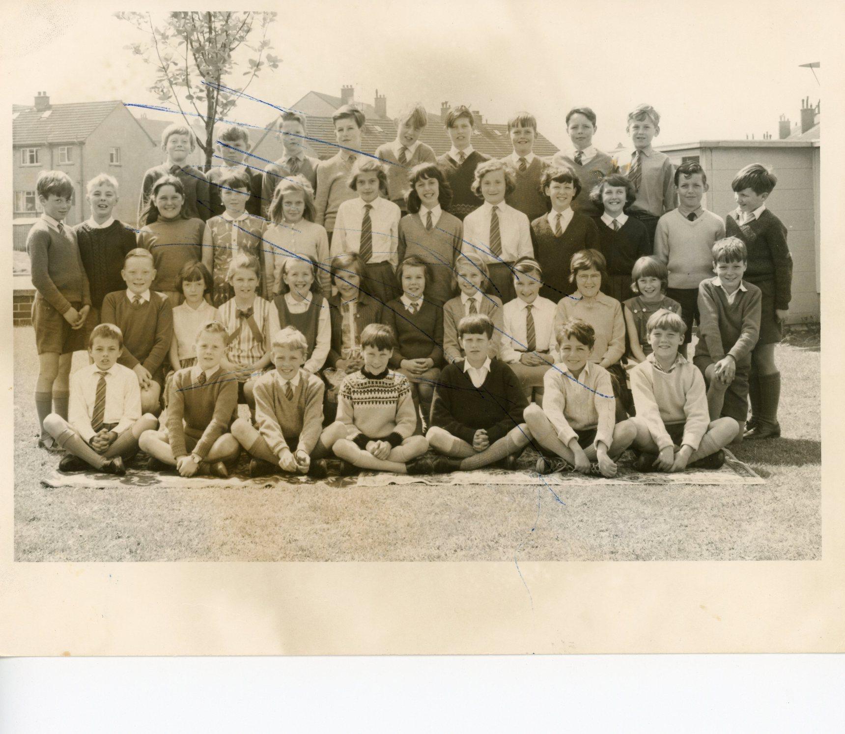 School class photo, Oxgangs