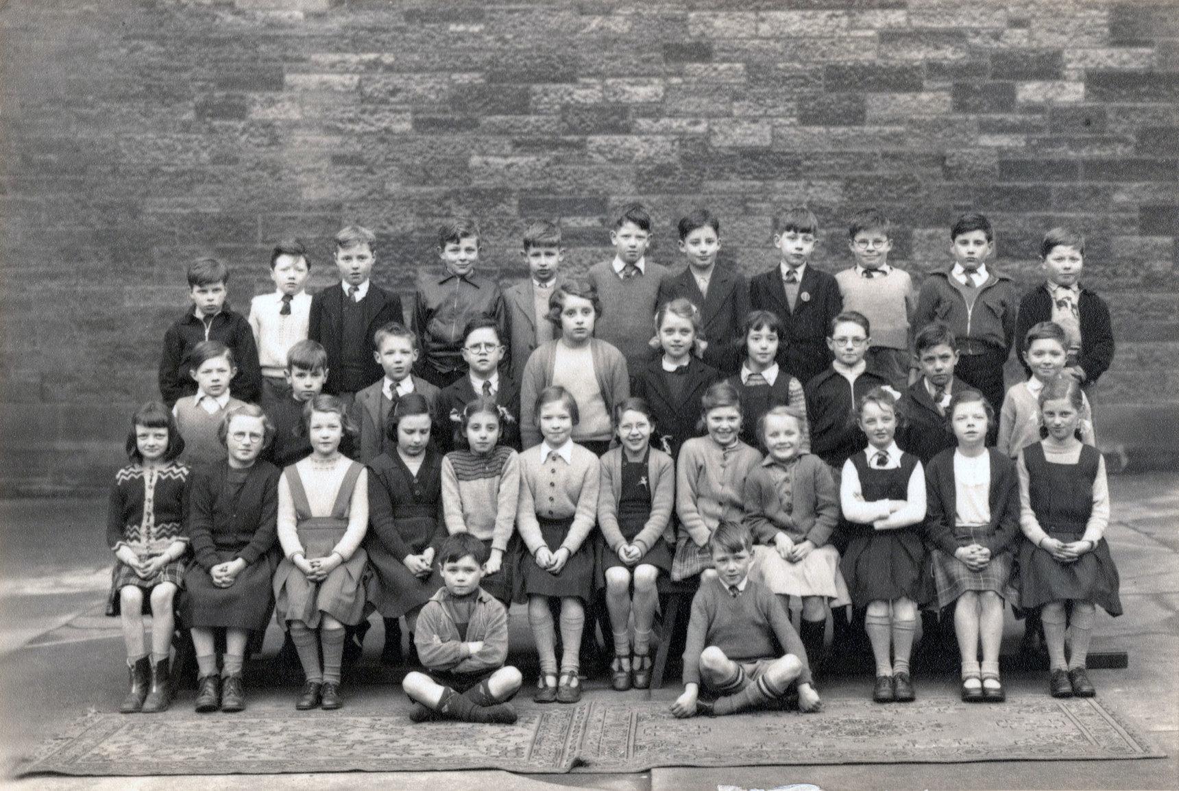 Leith Walk Primary School Class Portrait 1952
