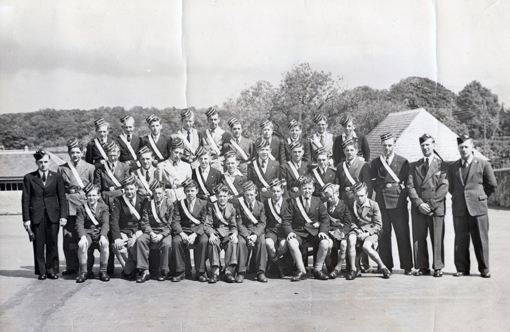 6th Boys Brigade (Stenhouse) Summer Camp At Cambusbarron 1952