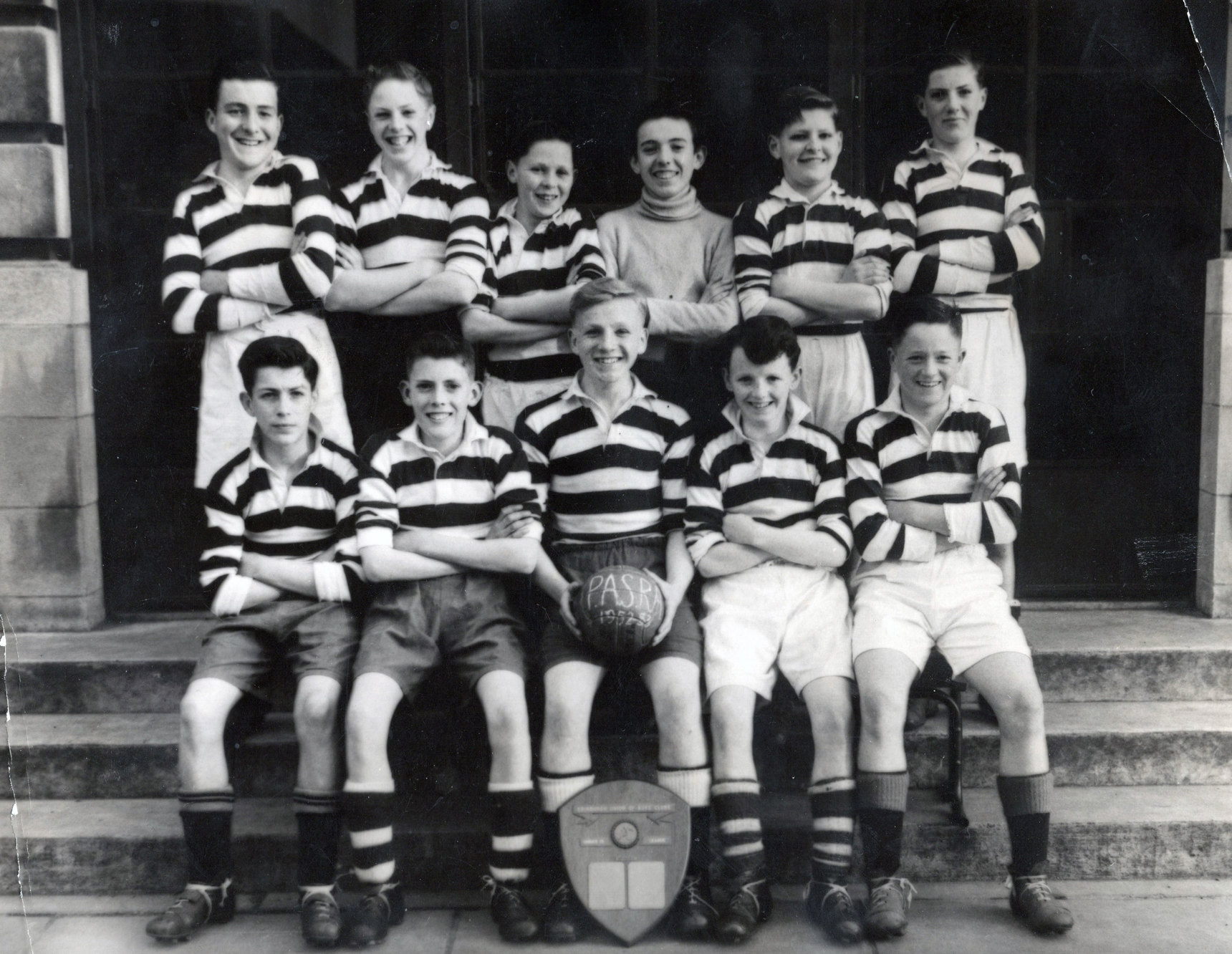 PASRA / Sighthill Thistle Football Team c.1953
