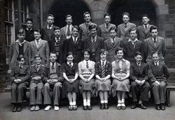 Broughton High School Class Portrait c.1952