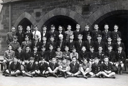 James Gillespie's Boys School Class Portrait c.1949