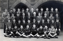James Gillespie's Boys School Class Portrait c.1950