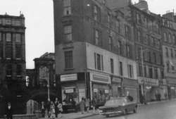 Leith Street On Junction With Calton Road 1960s