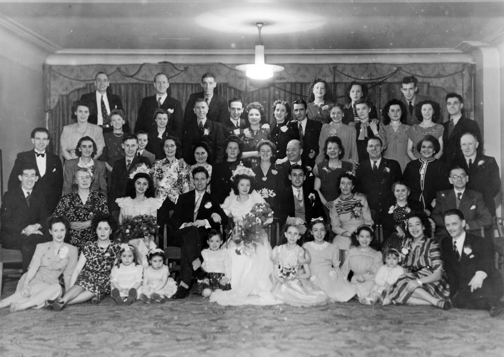 Large Wedding Group 1948