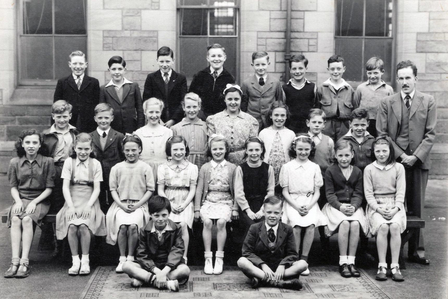 Bonnington Road School Class Portrait, June 1949