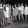 Competitors In William Crawford's Miss United Biscuits Beauty Contest 1967