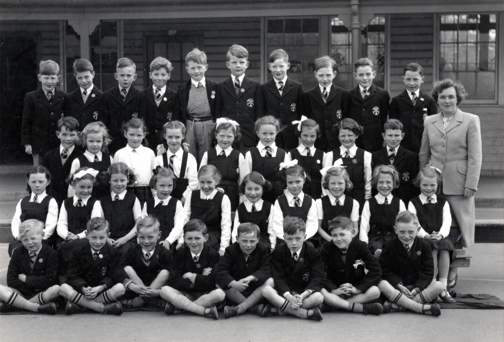 Trinity School Primary 3A Class Portrait 1953