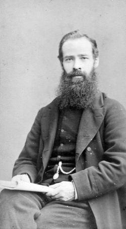 Studio Portrait Victorian Gentleman c.1870