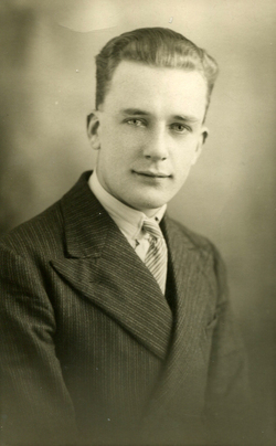 Studio Portrait Young Man, 28 Oct 1933