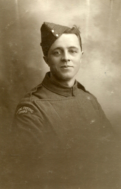 Studio Portrait Royal Flying Corps Serviceman c.1917