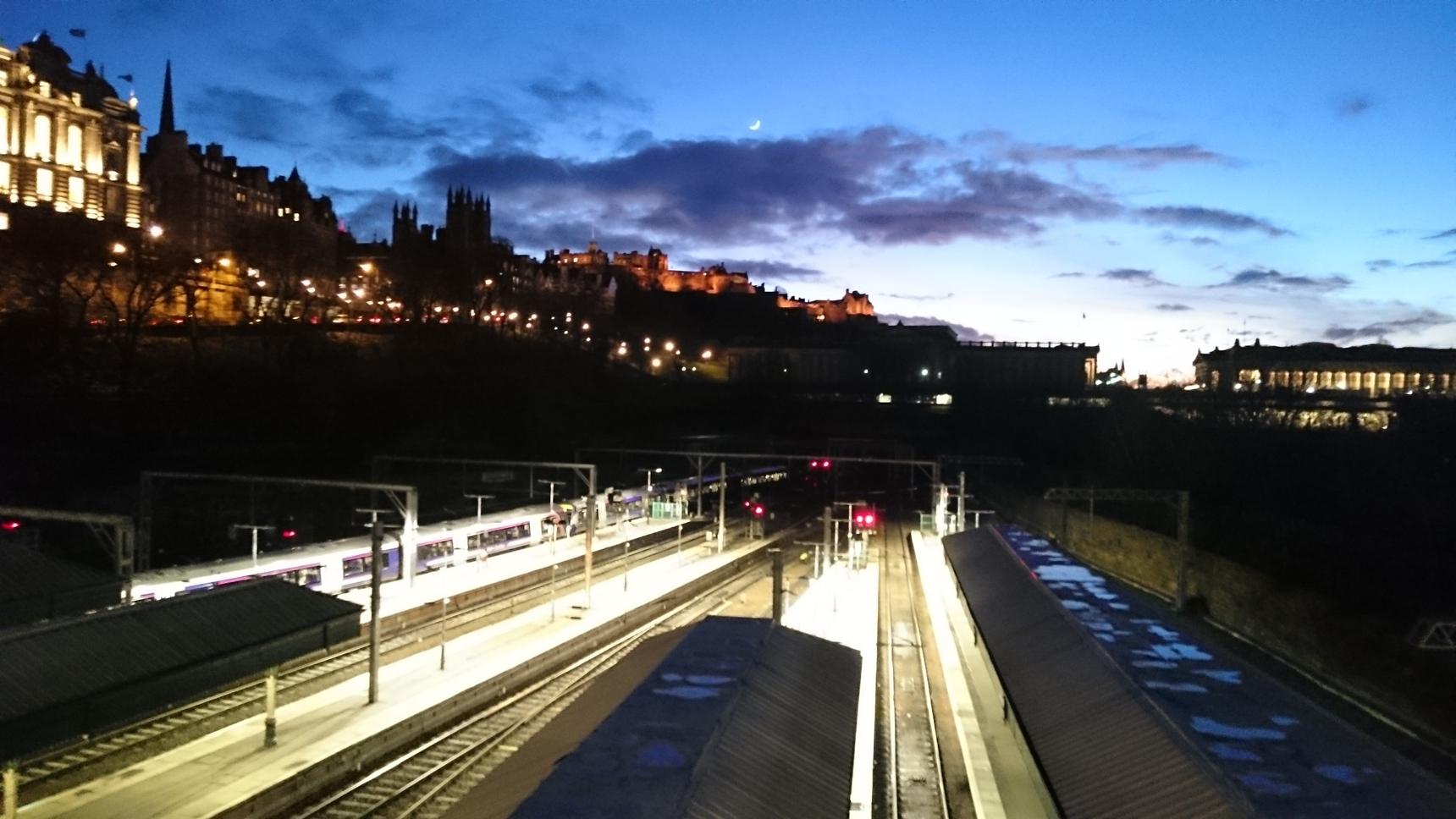 Edinburgh Castle - dusk