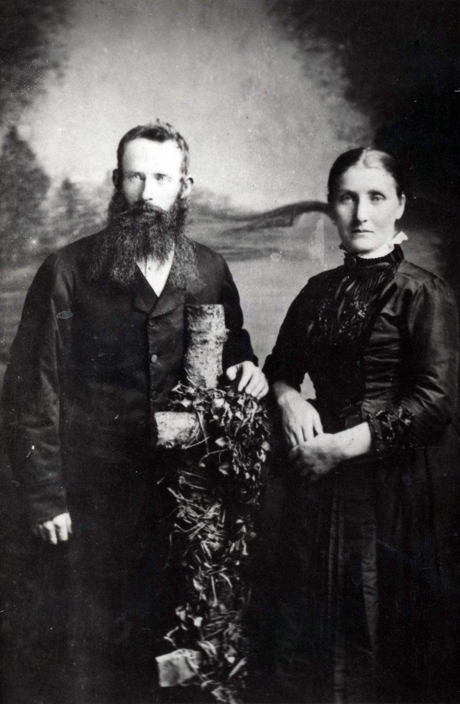 Studio Portrait Orcadian Couple c.1881