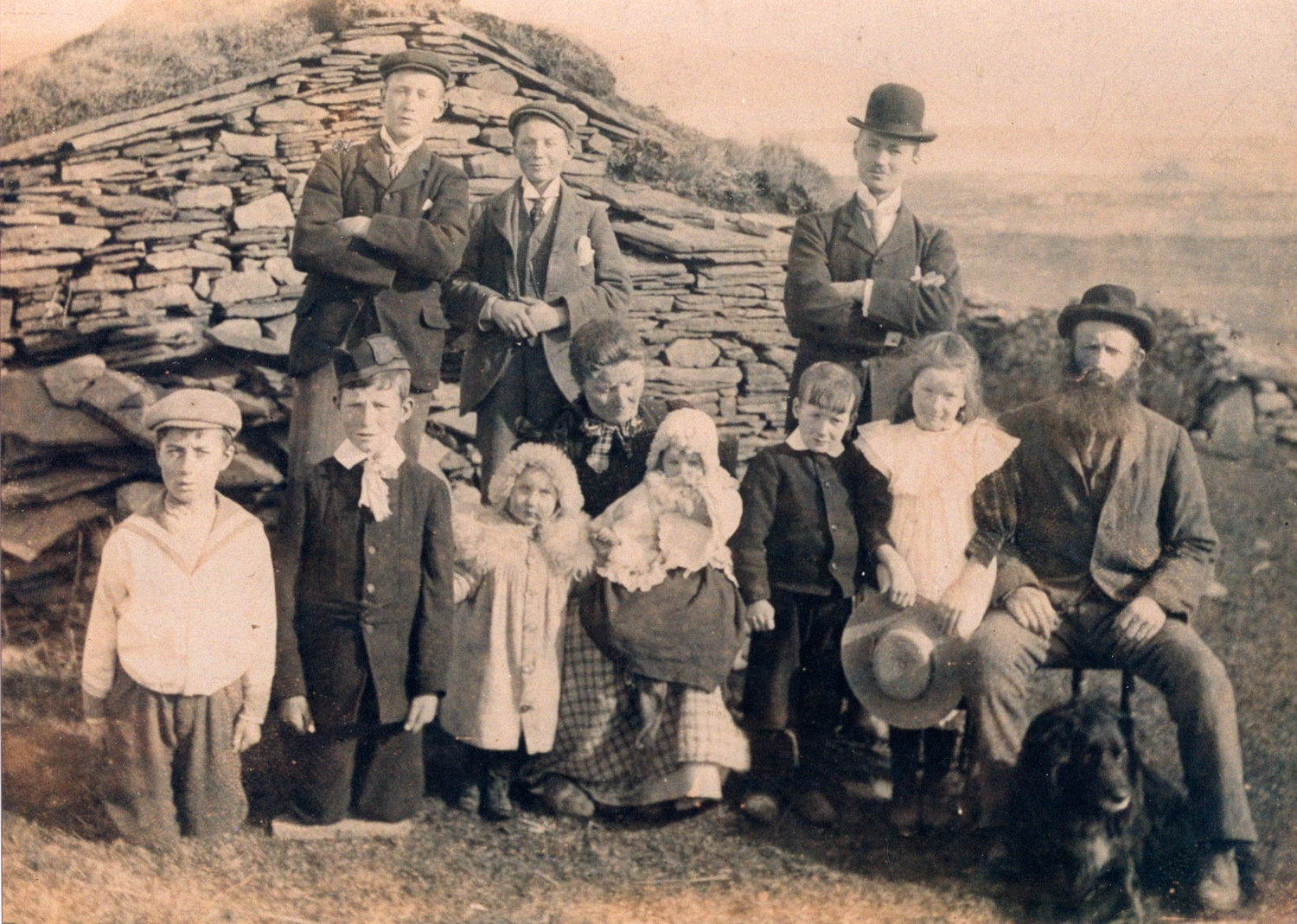 Orcadian Family c.1904