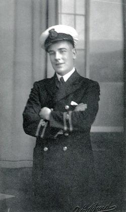 Studio Portrait Sailor In The Merchant Navy 1920s