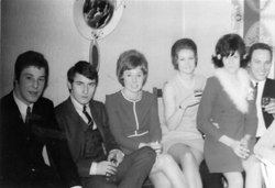 Young People At A House Wedding 1969