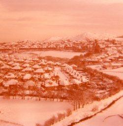 View of Oxgangs towards Braid Hills