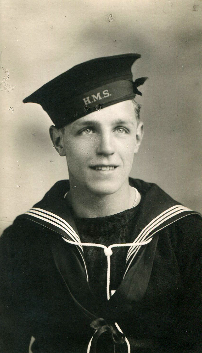 Studio Portrait Young Sailor 1940
