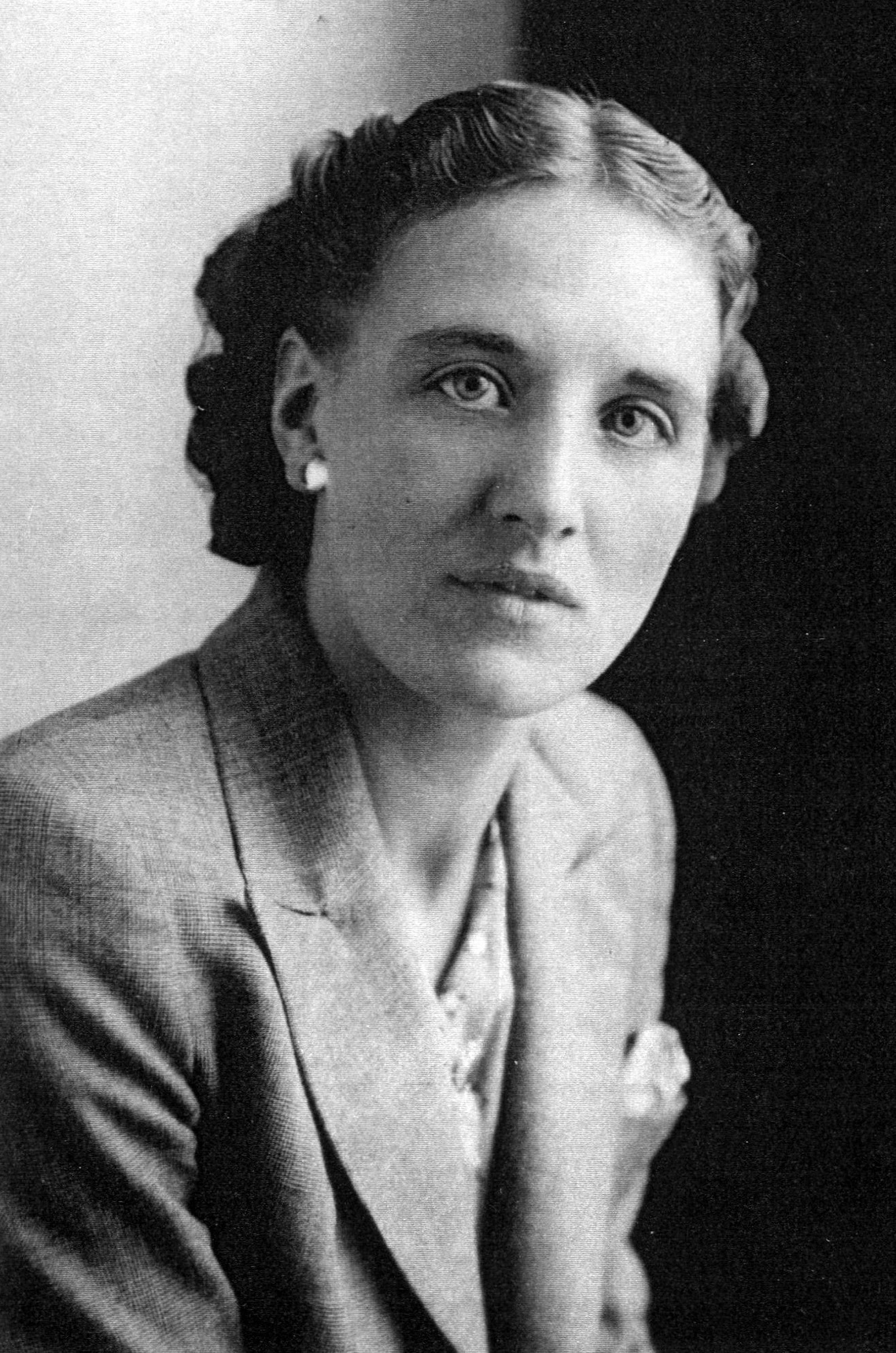 Studio Portrait Young Woman 1941