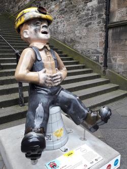 Oor Wullie - Oor Coal Miner