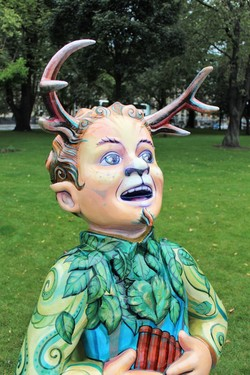 Oor Wullie;s BIG Farewell Weekend -  Woodland Spirit