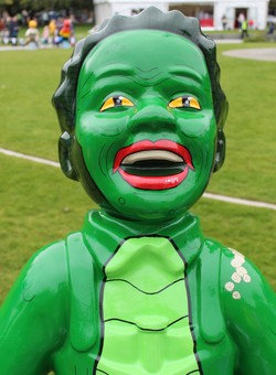 Oor Wullie's BIG Farewell Weekend - Wullie from the Black Lagoon