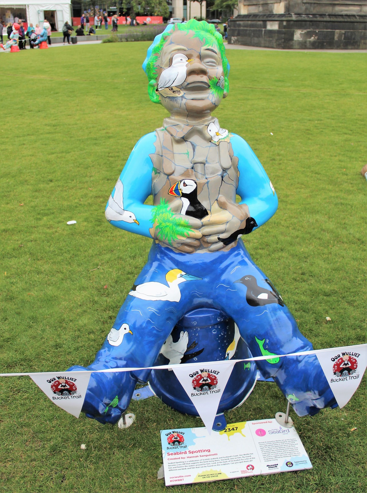 Oor Wullie's BIG Farewell Weekend - Seabird Spotting