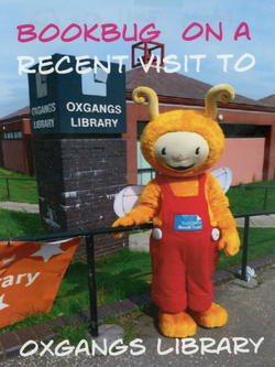 Bookbug visits Oxgangs Library