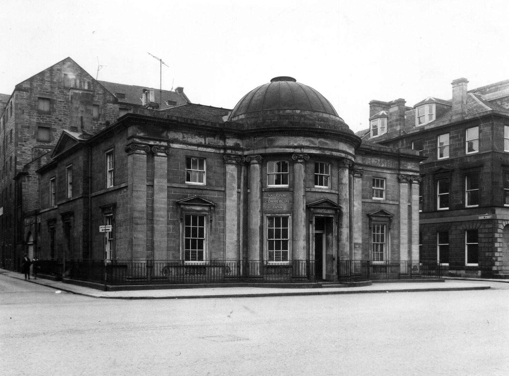 National Commercial Bank Of Scotland At 25 Bernard Street, April 1963