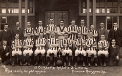 St Cuthberts Athletic Football Club Team Mid-Week Cup Winners and League Runners Up 1914
