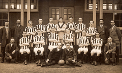 Unidentified Football Club Team From The Leith Mid-Week League c.1912