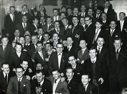 The Wire Works Dinner 1960s